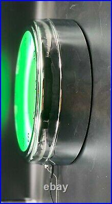 16 Mountain Dew Vintage Yahooo Sign Green Neon Clock Man Cave Bar Garage Mt