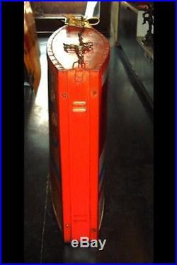 1950s ESSO MOTOR OIL GAS STATION GARAGE LIGHT BOX SIGN VINTAGE NT NEON PORCELAIN
