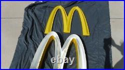 1 Vintage McDONALDS Restaurant Golden Arches 23 H Neon Sign PICK UP ONLY