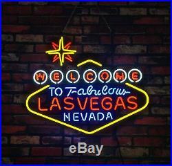 24x24Lasvegas Beer Gift Open Handmad Store Light Room Game Vintage Neon Sign