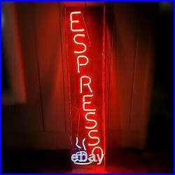 52 Tall Espresso Coffee Cafe Restaurant Bar Vintage Neon Lighted Sign Allanson