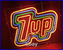 7 Up Neon Bar Sign Vintage Original Light Soda