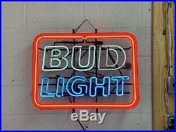 Bud Light Vintage Neon Sign