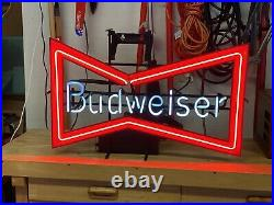 Budweiser Neon Sign Anheuser-Busch Original Vintage