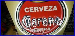 Cerveza Corona Extra Vintage Neon Sign. 35 x 32 RARE NEW IN BOX