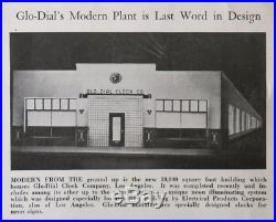 Classic Vintage Neon Movie Theatre Clock Impressive 22 Sign Display