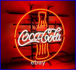Cola Drink Boutique Decor Porcelain Store Custom Vintage Neon Sign uk 16X16