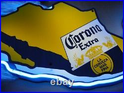 Corona Extra Beer Cervaza Neon Sign Mexico Bar Mancave New In Box Vintage'94