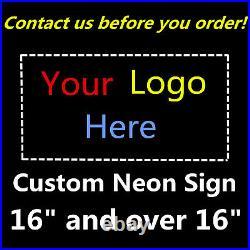 Custom Neon Sign Handmade Wall Decor Vintage Gift Beer Larger Than 16