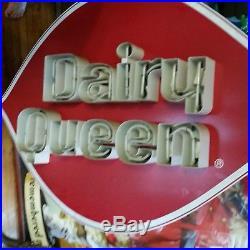 Dairy Queen vintage neon advertising sign