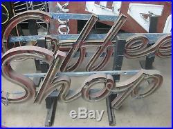 Details about Vintage 1950's COFFEE SHOP Antique Neon Sign / Channel Lettering