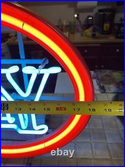 Fantastic 70's Vintage OLY Neon Sign Olympia Beer Neon bar lighted display Nice