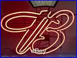 HUGE Vintage BUDWEISER Neon Sign Crown Wall Window Tap Beer 48W