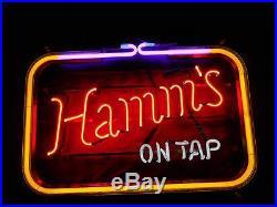 Hamm's Antique, Vintage Neon Beer Sign =NO RESERVE