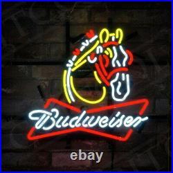 Horse BVD Vintage Decor Store Custom Boutique Artwork Gift Pub Beer Neon Sign