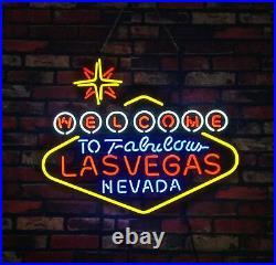 Lasvegas Store Gift Beer Vintage Pub Decor Boutique Neon Sign Custom 24''X20'