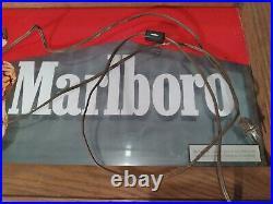 Marlboro Man Cowboy Vintage Neon Bar Light Sign Advertising Cigarette Display