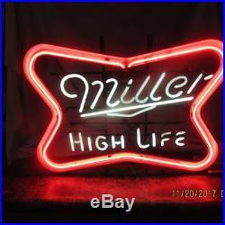 Miller High Life Neon Lighted sign VINTAGE