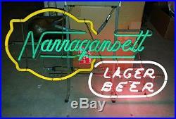 Narragansett Beer 4 color vintage neon sign