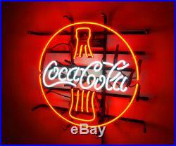Neon Light Cola Drink Custom Store Artwork Decor Vintage Boutique Beer Bar Sign