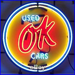Neonetics 5CHVOK Chevy Vintage Ok Used Cars Neon Sign