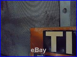 Nos old mend rite tire repair flange sign gas oil not neon vintage pump trade