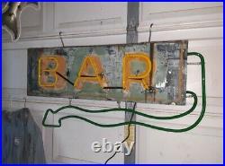 ORIGINAL BAR Neon Sign Old Vintage