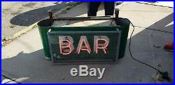 Original 1950's BAR- RESTAURANT NEON SIGN Vintage