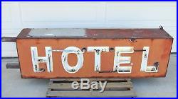Original Vintage NEON HOTEL Sign from Disney Hollywood Studios