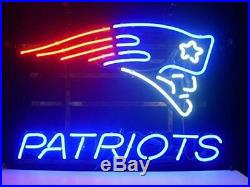 RARE Vintage Neon New England Patriots Sign