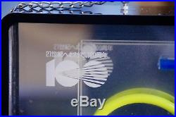 Rare! 1989 Miyata 100th ALFREX Shop Neon Light Sign board Vintage JAPAN