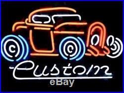 Rare New Vintage Old Car Auto Dealer Beer Bar Light Neon Sign 24