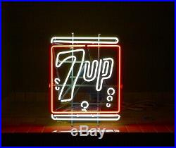Rare Vintage 7up Nostalgia Logo Neon Sign Awesome MINT