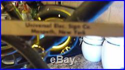 Rare Vintage Miller Lite Grean Bay Packer Helmet Neon Sign