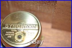 Rare Vintage Neon Clock Revolving Advertising Sign New Old Stock In Box
