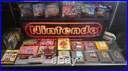 Rare Vintage Nes Nintendo Neon Sign Original 80's