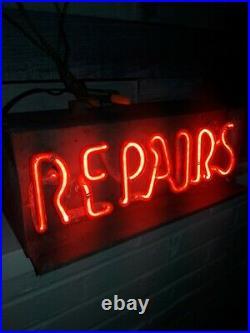 Rare vintage neon sign