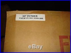 Retro Vintage Fender Guitar Neon Clock 20 Inch Nos Dealer American Standard