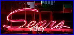 Sears Vintage Neon