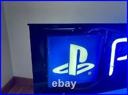 Sony PlayStation 2 Neon Vintage Display Sign