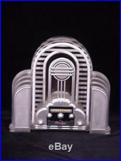 Spectacular vintage NEON AM FM stereo Lucite Plexiglass Radio Sign mancave AMP