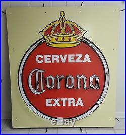 Used Very Rare Cerveza Corona Extra Vintage Neon Sign