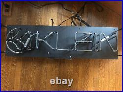 Used Vintage KLEIN BICYCLE Neon Sign 36 x 10
