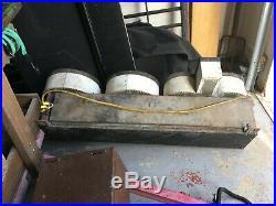 VINTAGE FRANCE FRANCEFORMER GAS TUBE LIGHTED SIGN SHOP or JOYS 48 & WORKS