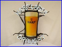 VINTAGE Harp Lager Draught Beer Authentic Neon Sign Pickup only