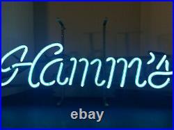 (VTG) 1960s hamms beer neon light up sign bar game room man cave mn