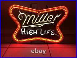 VTG 1978 Miller High Life Beer Neon Light Sign Bar Multi Flashing Local PU