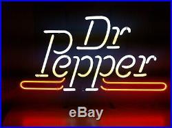 (VTG) 1993 Dr. Pepper soda pop neon light up sign advertising store rare