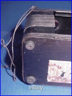 Vtg Art Deco Copeland Refridgerator Lighted Neon Advertising Sign Lima Products