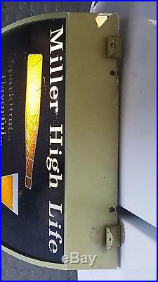 Very Rare Vintage Miller High Life Pouring Beer Neon Sign from the 1950s